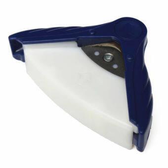 1ชิ้น R10 10มมตัดหัวกลมเจาะสำหรับเครื่องมือตัดกระดาษภาพถ่ายบัตรสีน้ำเงิน