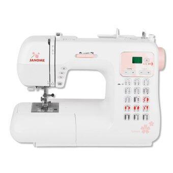 JANOME จักรเย็บผ้าชนิดกระเป๋าหิ้ว รุ่น OMMC4030SP(White)