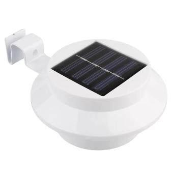 Solar Power โคมไฟ โซล่าเซลล์ พลังงาน แสงอาทิตย์ 3 Led รุ่น 3Led Warmwhite - โคมสีขาว