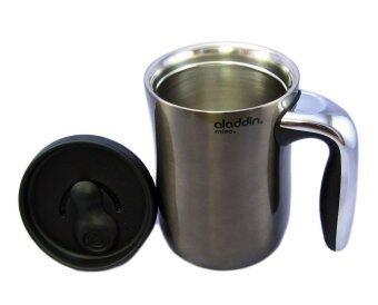 ALADDIN ถ้วยมัคสแตนเลสSENJA พร้อมฝาปิดขนาด 0.47