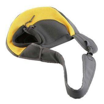 OH Pet Dog Cat Puppy Carrier Comfort Tote Shoulder Travel Bag Sling Backpack Yellow