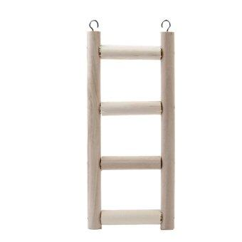 S & F Wooden Mouse Rat Hamster Step Ladder Bridge Gerbil Pet Parrot Bird Rodent Canary Toys