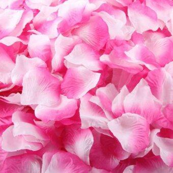 1000pcs Silk Rose Artificial Petals Wedding Party Flower Favors Decor Pink