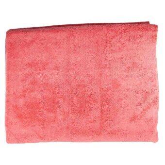 ผ้าห่มไมโครไฟเบอร์ CKC - สีแดง