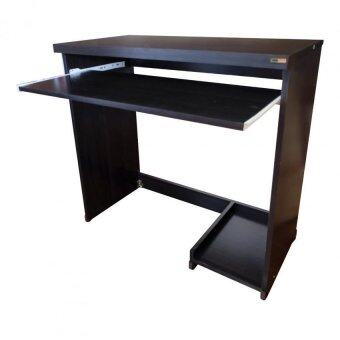 Asia โต๊ะคอมพิวเตอร์ ขนาด 80 cm. รุ่น TC-02 (สีโอ๊ค)