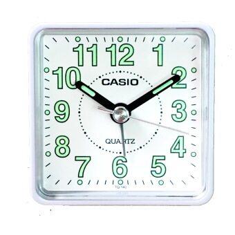 CASIO นาฬิกาปลุก รุ่น TQ140-7DF (White)