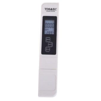 คุณภาพน้ำบริสุทธิ์แบบมืออาชีพ TDS อีซีมิเตอร์ทดสอบอุณหภูมิ