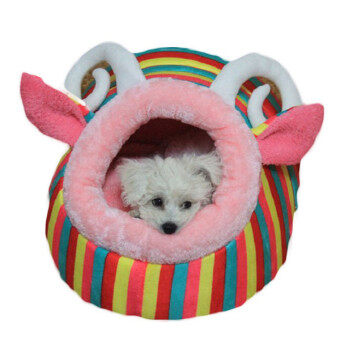 LALANG Pet Dog Cat Bed House Kennel Animal Warm Cushion
