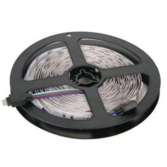 ไฟเส้น ไฟแถบ ความยาว 5m 5050 RGB 30/M LED + 12V 3A Power supply + รีโมทคอนโทรล 44key IR EU Plug (image 2)