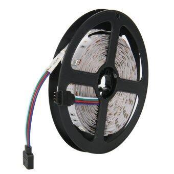 ไฟเส้น ไฟแถบ ความยาว 5m 5050 RGB 30/M LED + 12V 3A Power supply + รีโมทคอนโทรล 44key IR EU Plug (image 1)