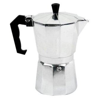 กาต้มกาแฟสดแบบกาปิคนิค 3 cup - สีเงิน