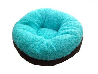 Goodsfordog ที่นอนสุนัข ทรงโดนัท size L - สีฟ้า