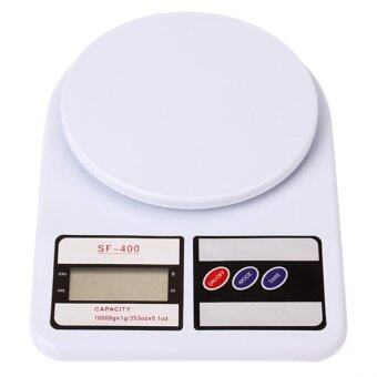BEST Tmall Eaze Electronic Kitchen Scale Max 7 Kg. รุ่น SF-400 (สีขาว)