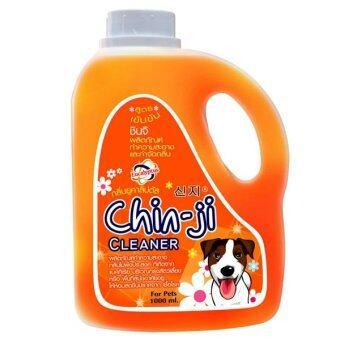 Chinji ผลิตภัณฑ์ทำความสะอาดและกำจัดกลิ่นชินจิ กลิ่นยูคาลิปตัส สูตรเข้มข้น 1000 ml.
