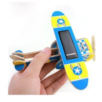 ของเล่น เครื่องบินไม้ โซล่าเซลล์ (image 0)