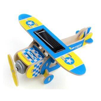 ของเล่น เครื่องบินไม้ โซล่าเซลล์ (image 1)