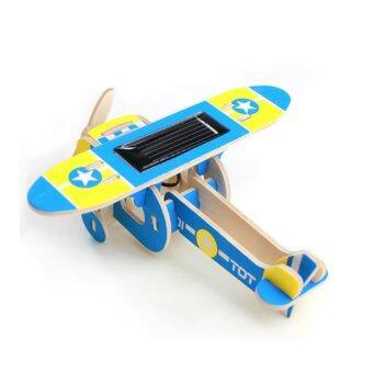 ของเล่น เครื่องบินไม้ โซล่าเซลล์ (image 2)