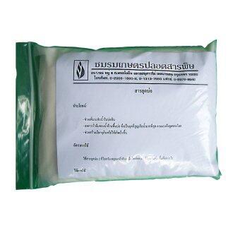 THAIGREENAGRO ไทยกรีนอะโกร THAIGREEN SHOP สินค้าการเกษตร สารอุดบ่อ-TM (ใช้สำหรับอุดพื้นสระที่กักเก็บน้ำไม่อยู่ แก้ปัญหาน้ำรั่วซึม)