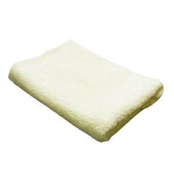 ผ้าห่มไมโครไฟเบอร์ CKC - สีเหลืองอ่อน 150x210 ซม.