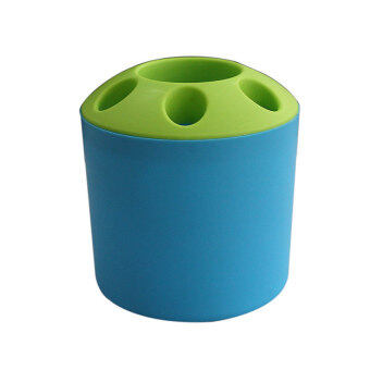 Buytra Toothbrush and Toothpaste Holder Blue