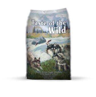 Taste of the Wild อาหารสุนัขโฮลิสติก Pacific Stream Puppy Formula 1.5 ปอนด์
