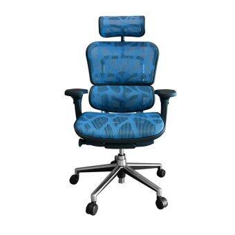 Ergohuman Thailand เก้าอี้เพื่อสุขภาพ รุ่น ERGOHUMAN-2 (Blue)