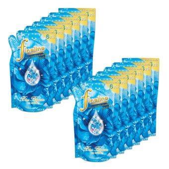 ขายยกลัง FINELINE ไฟน์ไลน์ น้ำยาปรับผ้านุ่ม เอ็กซ์ตรีม - ถุงเติม 600 ML. – สีน้ำเงิน (ทั้งหมด 12 ถุง)
