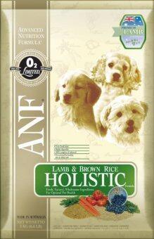 ANF Holistic Lamb & Rice Holistic สูตรเนื้อแกะเม็ดเล็ก สำหรับสุนัขโตทุกสายพันธุ์ ขนาด 7.5 Kg.