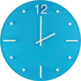 Giavani นาฬิกาแขวน 12 นิ้ว รุ่น GN3492 (สีฟ้า)