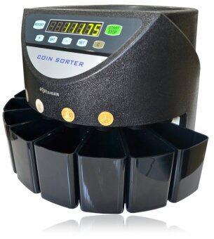 Winmax เครื่องนับเหรียญ คัดแยกเหรียญ รุ่น WINMAX-CC01 - สีดำ