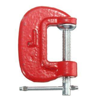 1นิ้ว/25มมแบงค์ยึดจีคีมทองโลหะ Woodworks ช่างเครื่องมือช่างคีมบีบสีแดง