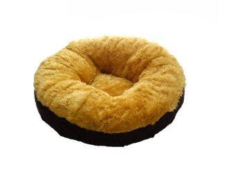 Goodsfordog ที่นอนสุนัข ทรงโดนัท size L - สีน้ำตาล