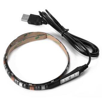 ไฟเส้น Multi-color RGB 50cm 5050 SMD LED กันน้ำ พร้อม USB Cable (image 3)