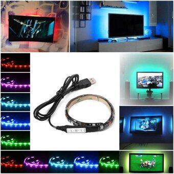 ไฟเส้น Multi-color RGB 50cm 5050 SMD LED กันน้ำ พร้อม USB Cable (image 1)