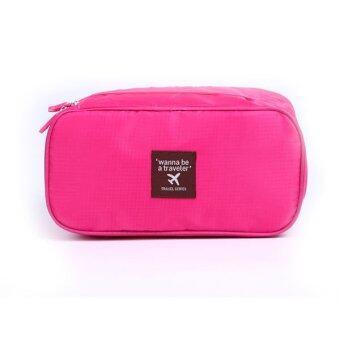 Getagift กระเป๋าใส่ชุดชั้นใน สำหรับเดินทาง - สีชมพู