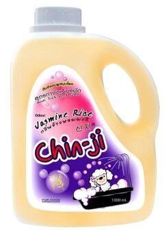 Chinji แชมพูสำหรับสุนัข กลิ่นข้าวหอมมะลิ สูตรกำจัดเห็บหมัด ( 1000ml. )