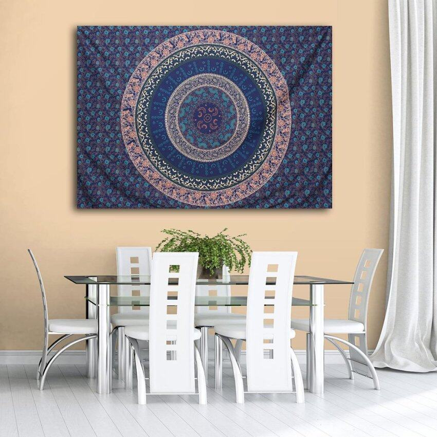 Indian Hippie Queen Tapestry Mandala Bohemian Wall Hanging Bedspread Dorm Throw - intl .