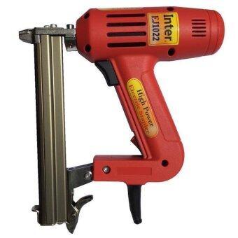 INTER ปืนยิงตะปูขาคู่ไฟฟ้า INTER รุ่น EJ1022 (สีแดง)