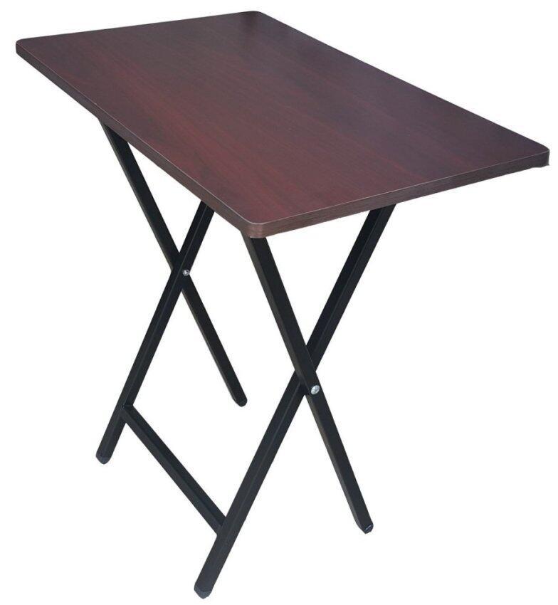 สินค้าแนะนำInter Steel โต๊ะโน๊ตบุ๊ค ขาเหล็กพับได้ ( ขาสีดำ / ท็อปโอ๊ค ) ไม่แพง
