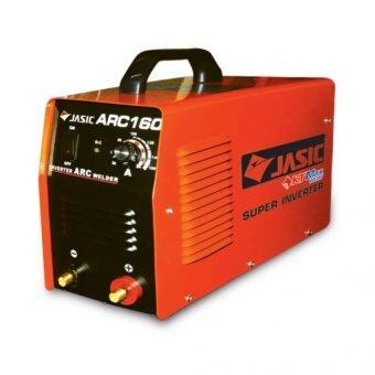 JASIC เครื่องเชื่อมอินเวิร์ทเตอร์ ระบบ ARC รุ่น ARC160 (สีส้ม)
