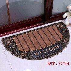 Jhs European-Style Home Floor Mats Doormat Into The Doormat Hall Livingroom Bathroom Door Slip Pvc Rubber Outdoor Plastic Mats - Intl ราคา 363 บาท(-36%)