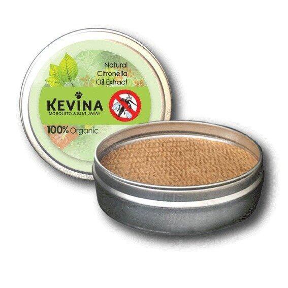 Kevina เควีน่า Mosquito & Bug away ตลับกลิ่นไล่ยุง ยากันยุงสำหรับสุนัข และทุกคนในครอบครัว (1 ตลับ) ...