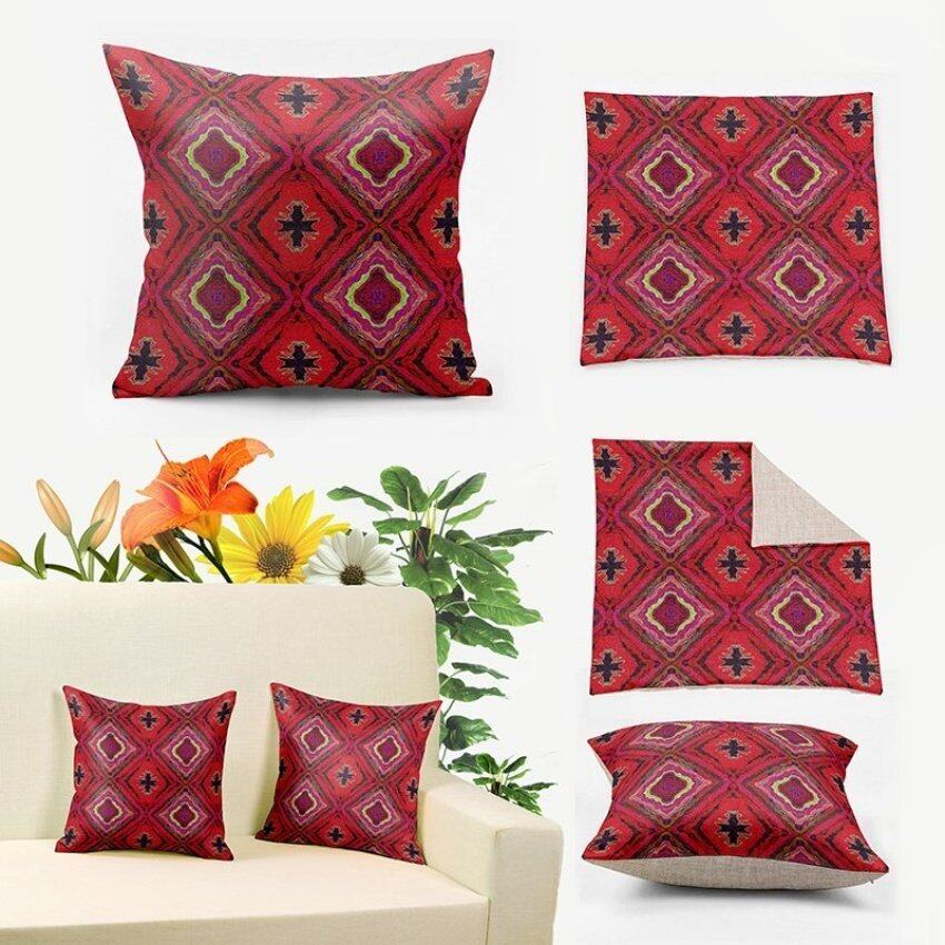 Kilim Pattern Prining Turkish Pillow Cover,Decoration Pillows Forcouch,Burlap Pillow Cas ...