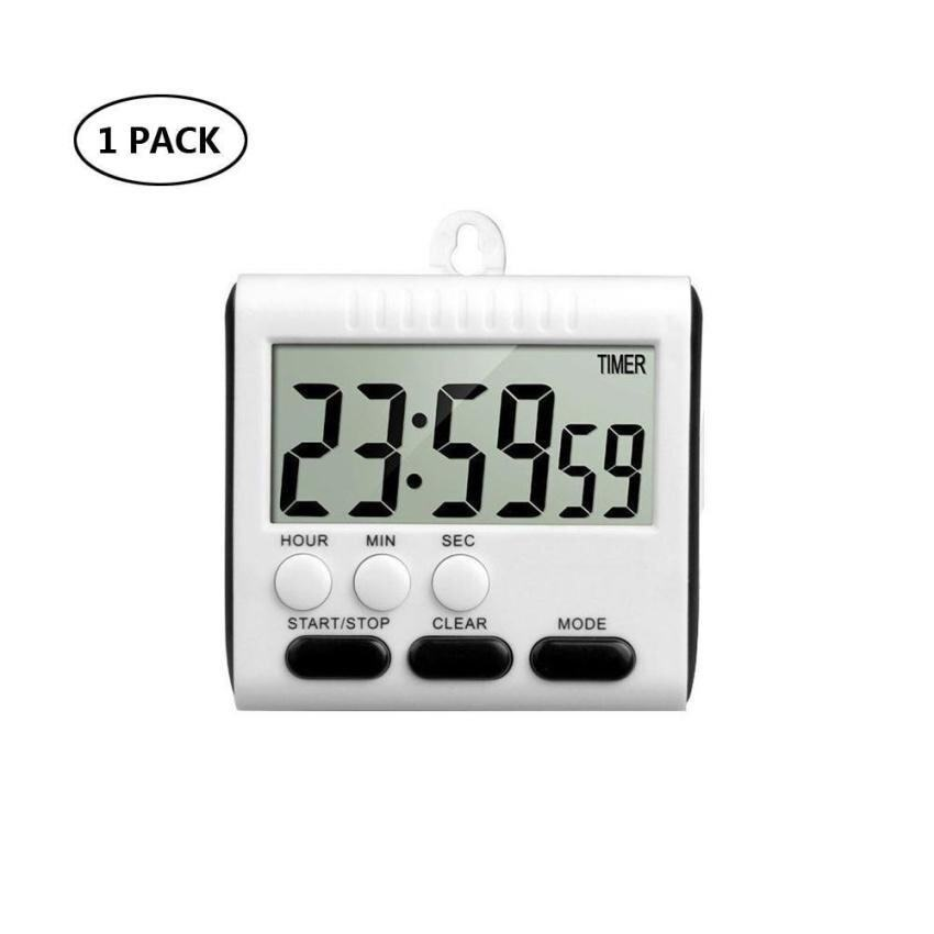Kobwa Magnetic Digital Kitchen Timer 24 Hours Clock Cookingtimer With Loud Alarm,Strong  ...