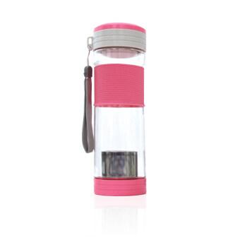 Koorkinoor ขวดน้ำดื่มสำหรับชงชา รุ่น HTE611 (สีชมพู)