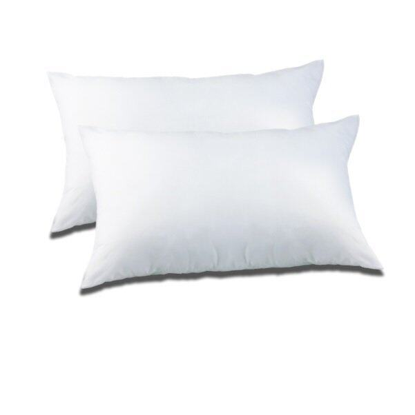 แนะนำLady - Pillow เกรดเอ หมอนหนุนใยสังเคราะห์ ใย ( แพ็คคู่ ) ราคาโครตถูก