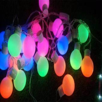 ไฟปิงปอง LED 20 หลอด คละสี