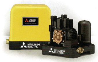 MITSUBISHI ปั๊มน้ำอัตโนมัติ รุ่น EP-255Q5 (สีเหลือง)