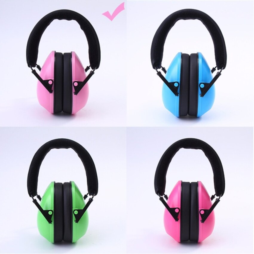 NEW Comfortable Ear Protector for Children Anti-noise Hearing Protection Earmuffs Headse ...