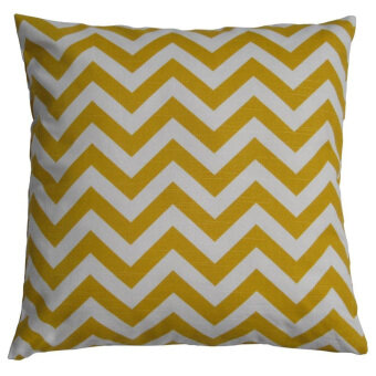 New Fashion Vintage Cushion Cove (White/Yellow)